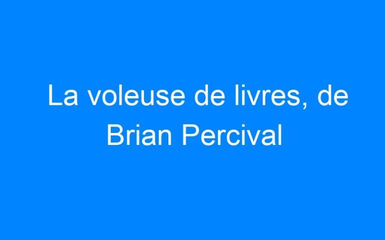 La voleuse de livres, de Brian Percival