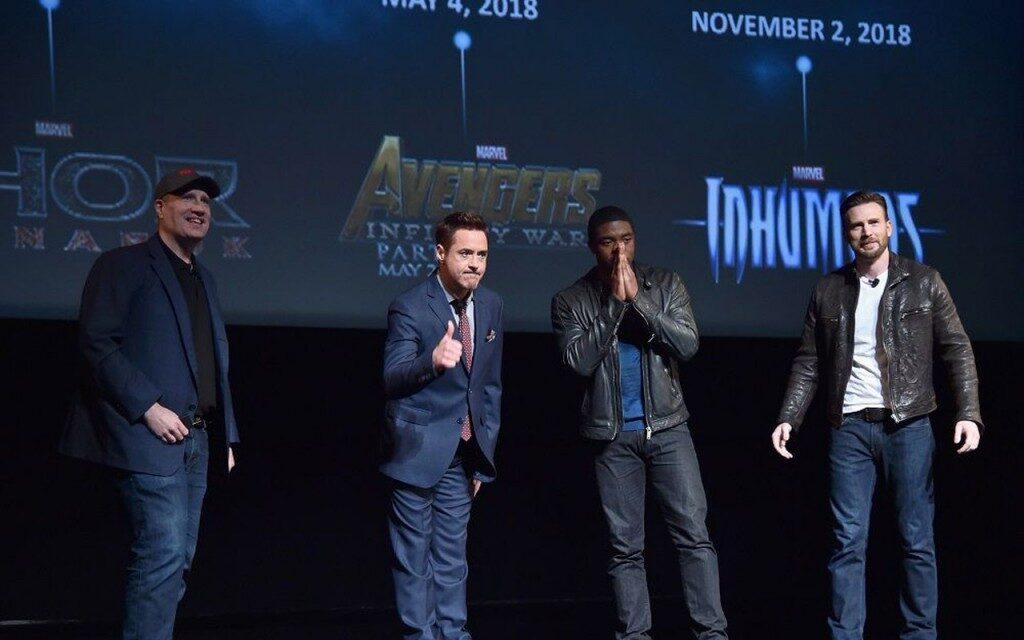 Avengers 3 annoncé parmi 9 nouveaux films Marvel jusqu'en 2019